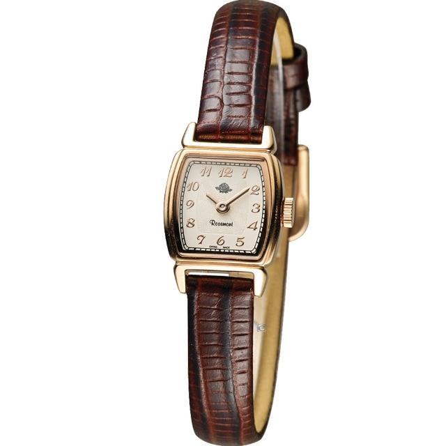 mk 智慧型手錶【玫瑰錶 Rosemont】骨董風玫瑰系列時尚腕錶(TRS46-05-BR)