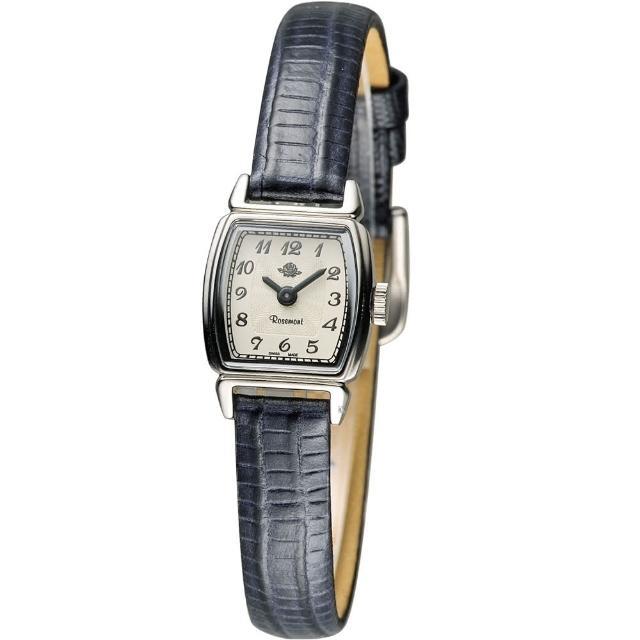 【玫瑰錶 Rosemont】骨董風玫瑰系列時尚腕錶(TRS46-03-DBUmontb)