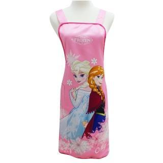 【Disney】冰雪奇緣圍裙(FZ0008B粉紅)