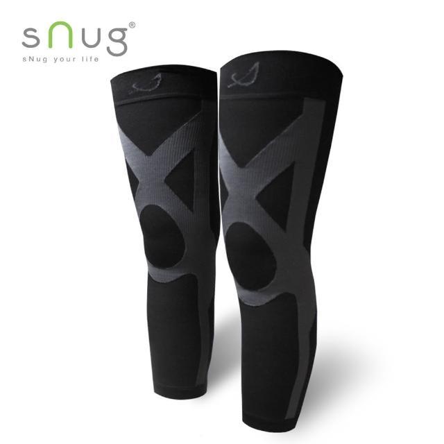 【SNUG】運動壓縮全腿套-1雙(多尺寸任momo富邦購物型錄選)