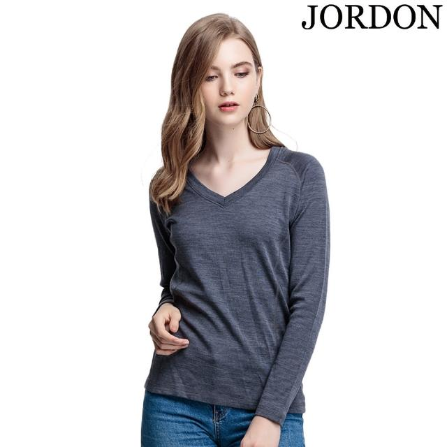 【好物分享】MOMO購物網【JORDON橋登】女款V領 100%美利諾羊毛保暖衣(745)好用嗎momo 購物網 0800