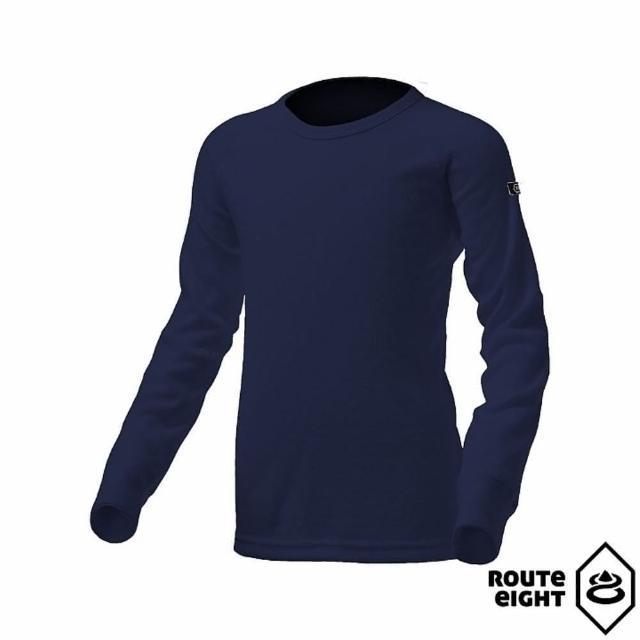 【私心大推】MOMO購物網【ROUTEEIGHT】童 WARM 圓領保暖衣(海軍藍)價錢momo網站