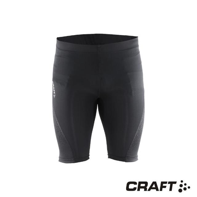 【好物分享】MOMO購物網【CRAFT】DELTA男款運動壓縮短褲(黑色)哪裡買momo首頁