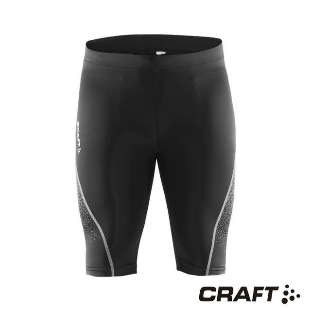 【CRAFTmomo電話】DELTA男款運動壓縮短褲(黑/灰)