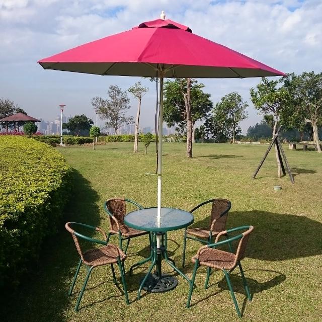 【私心大推】MOMO購物網【BROTHER兄弟牌】PE藤椅一桌四椅組含玻纖傘+12KG傘座(兄弟牌桌椅組)有效嗎momo購物台內衣