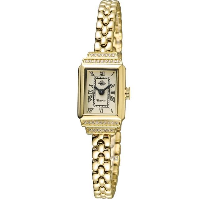 【玫瑰錶 Rosemont】骨董風玫瑰系列momo徵才時尚鍊錶(TRS015-07)