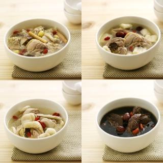 【郭老師】居家料理養生雞湯4碗組(藥膳食)