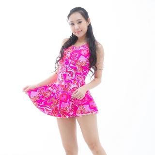 【部落客推薦】MOMO購物網【BICH LOAN】泡湯/SPA專用大尺碼連身裙泳裝(13006616)去哪買momo富邦購物