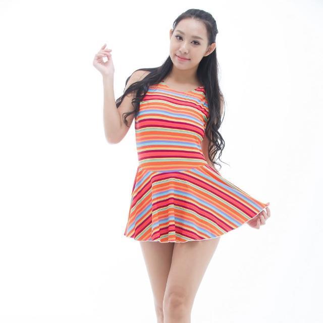 【網購】MOMO購物網【BICH LOAN】泡湯/SPA專用大尺碼連身裙泳裝(13006617)評價好嗎momo台購物網