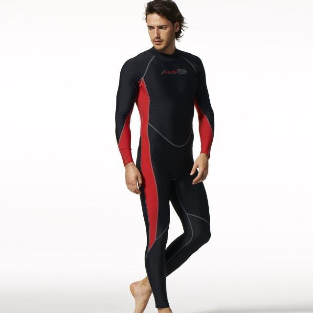 【SAIN SOU】抗UV防水母螫咬連身水母衣(momo 購物 momo 購物台A90513)