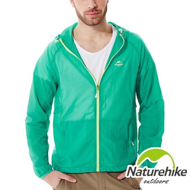【Naturehike】輕薄風衣外套/皮膚風衣外套男款momo客服電話幾號(湖水綠)