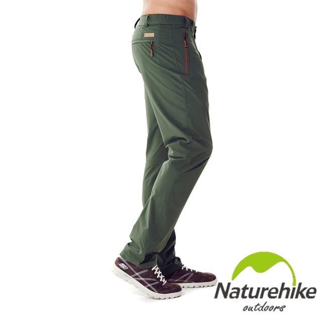 【網購】MOMO購物網【Naturehike】單色休閒褲/速乾褲/戶外褲 男款(軍綠)哪裡買富邦科技