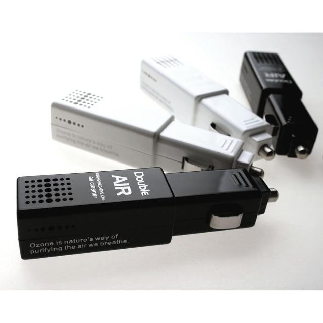 【好物分享】MOMO購物網DOUBLE AIR mini Q 車用空氣清淨機 WF-7001(黑或白)心得momo購網