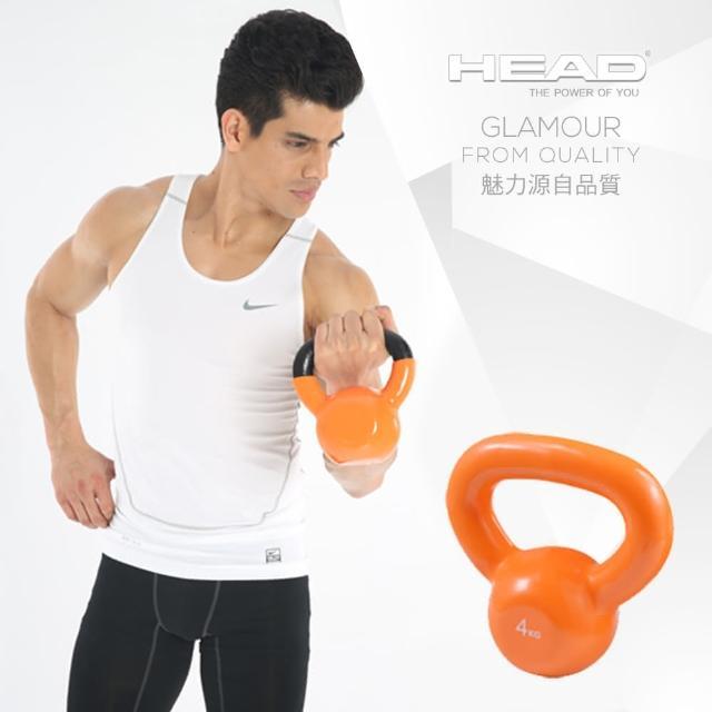 【真心勸敗】MOMO購物網【HEAD 海德】專業健身壺鈴4KG去哪買momo奇摩