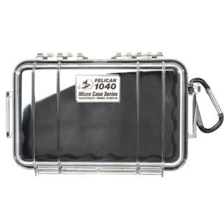 【美國 PELICAN】1040 氣密箱 微型防水箱(透明黑/黃)