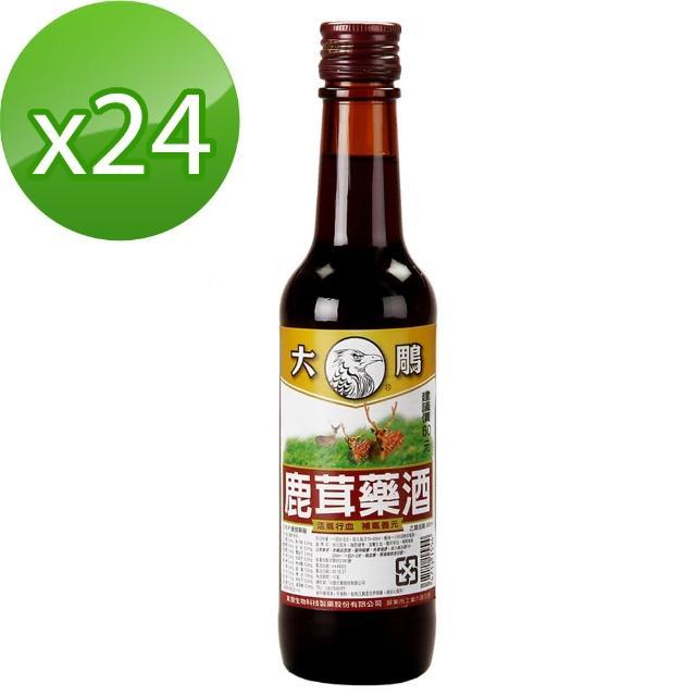 【大鵰】鹿茸藥富邦momo購物台電話酒300ml*24(乙類成藥)