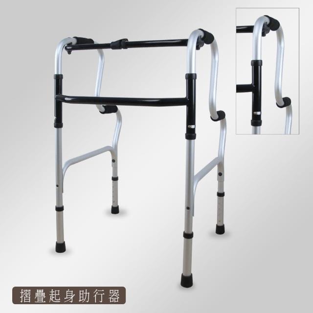 【舞動創意】仲群維機械式助行器-未滅菌-ㄇ型momo購物綱起身式五段調整助行器(標準版-GT6008)