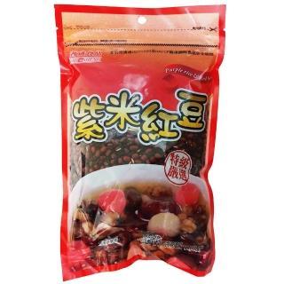 【耆盛】紫米紅豆500g(南北貨豆類)