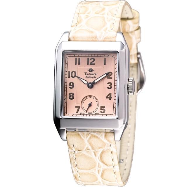 【玫瑰錶 Rosemont】戀burberry經典格紋喀什米爾羊毛圍巾舊系列時尚腕錶(TN002-SP-BWH)