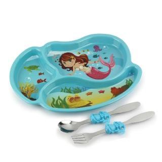 【KIDSFUNWARES】造型兒童餐盤組(小美人魚)