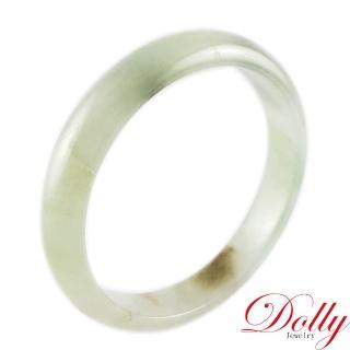 【Dolly】冰糯芙蓉A貨翡翠玉鐲(手圍17.5)