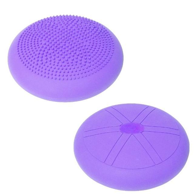 【momoe購物台Sport-gym】-平衡墊/按摩墊/和室椅墊/椅背墊-蝴蝶顆粒-可充氣型