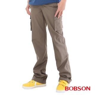 【BOBSON】男款嘻哈酷中直筒牛仔褲(1677-87)
