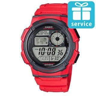 【CASIO】世界城市野外風格概念錶(AE-1000W-4A)