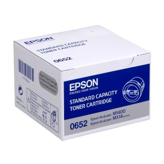 【EPSON】M1400/MX14NF/MX14標準容量黑色碳粉匣(S050652)
