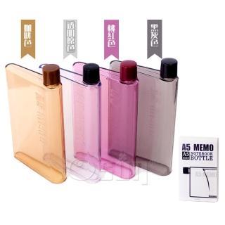 【Osun】暢銷日韓A5筆記本造型水瓶、水壺(2入CE-206)