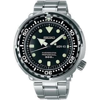 【SEIKO】PROSPEX 潛水錶50周年紀念錶-黑/48mm(7C46-0AG0C  SBBN031J)