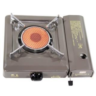 台灣製造遠紅外線卡式休閒爐JL-198灰(贈攜帶式外盒)