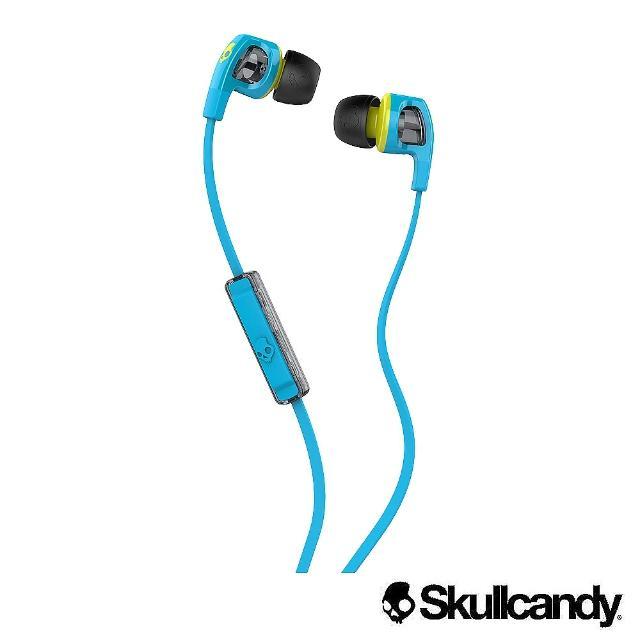 【美國Skullcandy潮牌】SB2 入耳式momo東森耳機-灰藍色(公司貨)