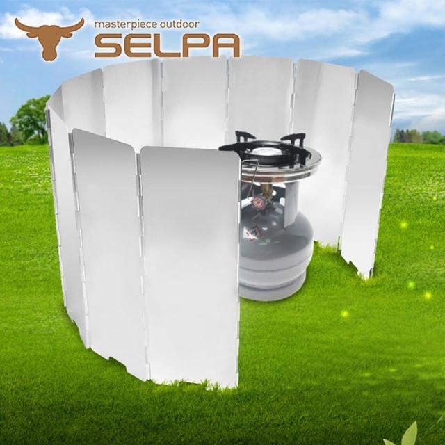 【好物推薦】MOMO購物網【韓國SELPA】十片加高款鋁合金擋風板(銀色)價格momo商品