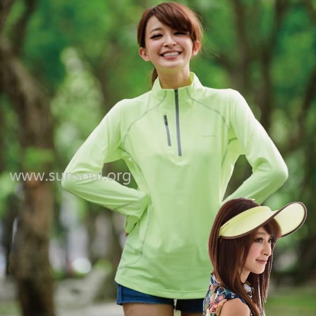 【勸敗】MOMO購物網【SUNSOUL】光能傑克帽+長袖拉鍊運動上衣組-M/L/XL(黃光)好用嗎momo商城
