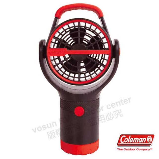 【好物推薦】MOMO購物網【美國 Coleman】BATTERYLOCK杯架風扇.小電扇.移動便攜式風扇(CM-27315 紅)評價如何富邦momo台