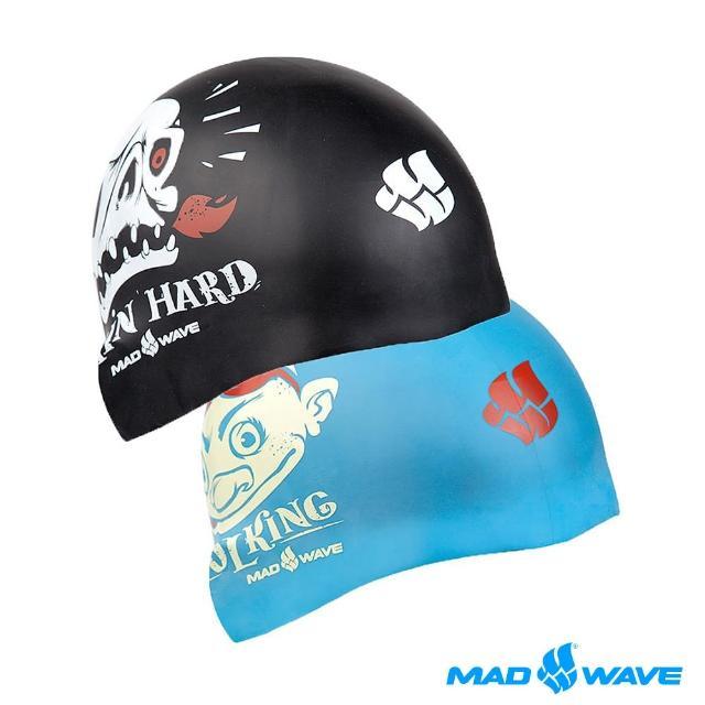 【俄羅斯MADWmomo拍賣網AVE】成人矽膠泳帽(POOL KING -可雙面使用)