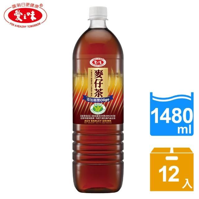 【愛之味】麥仔茶148momo旅行社0ml x 12瓶(國家健康食品認證)