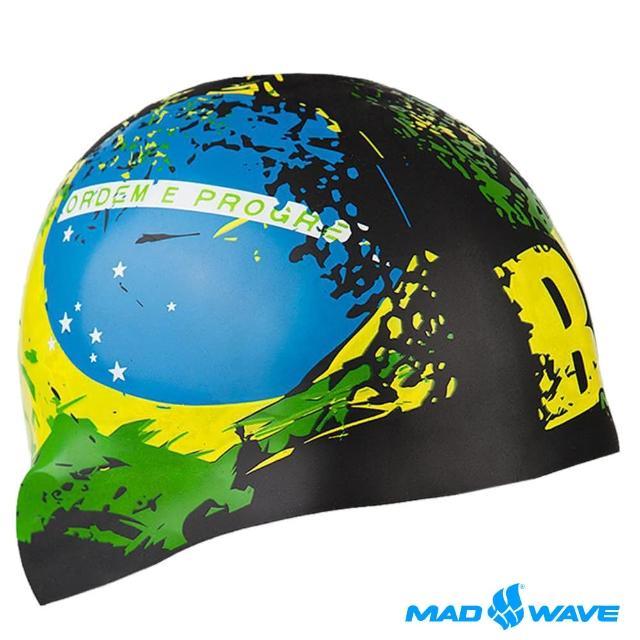 【網購】MOMO購物網【俄羅斯MADWAVE】成人矽膠泳帽(BRAZIL)好嗎富邦momo購物台電話
