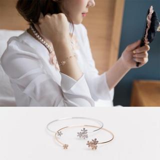【快速出貨】小巧清新花朵手環(G1897)