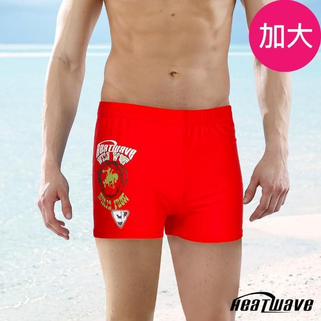 【網購】MOMO購物網【Heatwave 熱浪】加大男泳褲 二分平口褲-野火紅(148)效果如何momo旅遊購物網