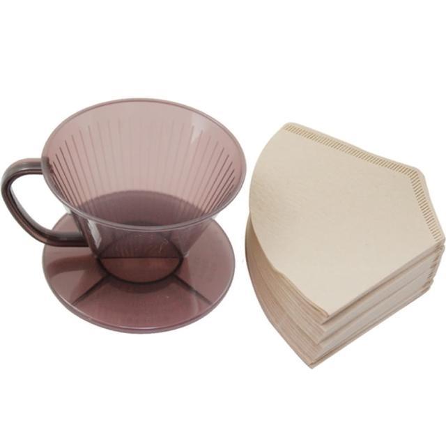 【好物推薦】MOMO購物網【omax】日製耐熱咖啡濾杯1入+無漂白咖啡濾紙160入(2包裝)評價好嗎momo購物网
