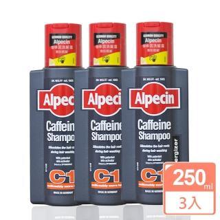 【Alpecin】咖啡因洗髮露250ml(3入組)
