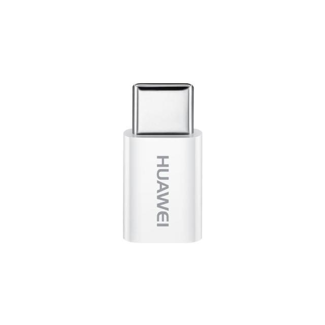 【HUAWEI 華為】原廠 Micro USB 轉 Type-C 轉接富邦momo電視購物頻道頭(裸裝)