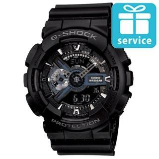 【CASIO】G-SHOCK 收藏未來潮流數位錶(GA-110-1B)