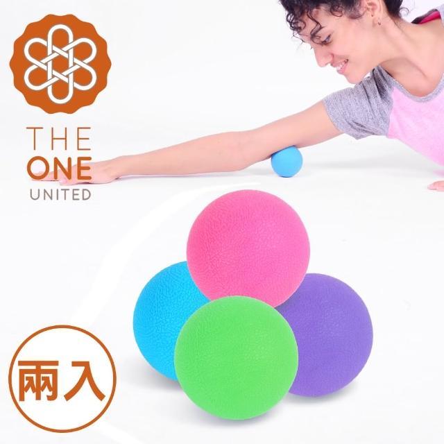 【The One】momo 信用卡環保TPE瑜珈筋膜球/按摩球(混色2入)