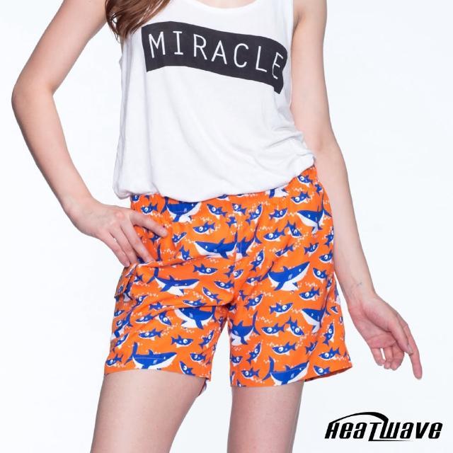 【網購】MOMO購物網【Heatwave 熱浪】女海灘褲-橘陽鯊(C58)評價如何momo客服電話