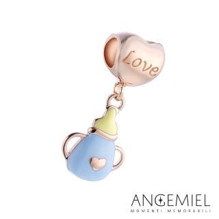 【Angemiel安婕米】925純銀珠飾 Dream童話系列 奶瓶 吊飾