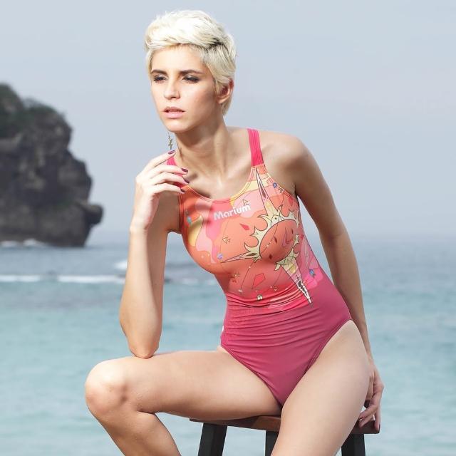 【網購】MOMO購物網【≡MARIUM≡】大女競賽型泳裝(MAR-6007W)推薦momo 1台