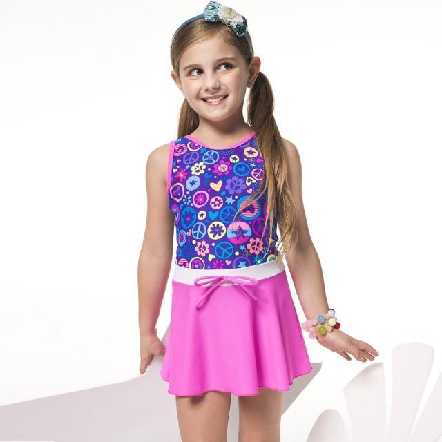 【好物分享】MOMO購物網【SARBIS】泡湯SPA戲水女童連身裙泳裝(附泳帽B88605)效果如何momo的電話